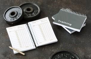Trainingstagebuch als Geschenk für Sportler